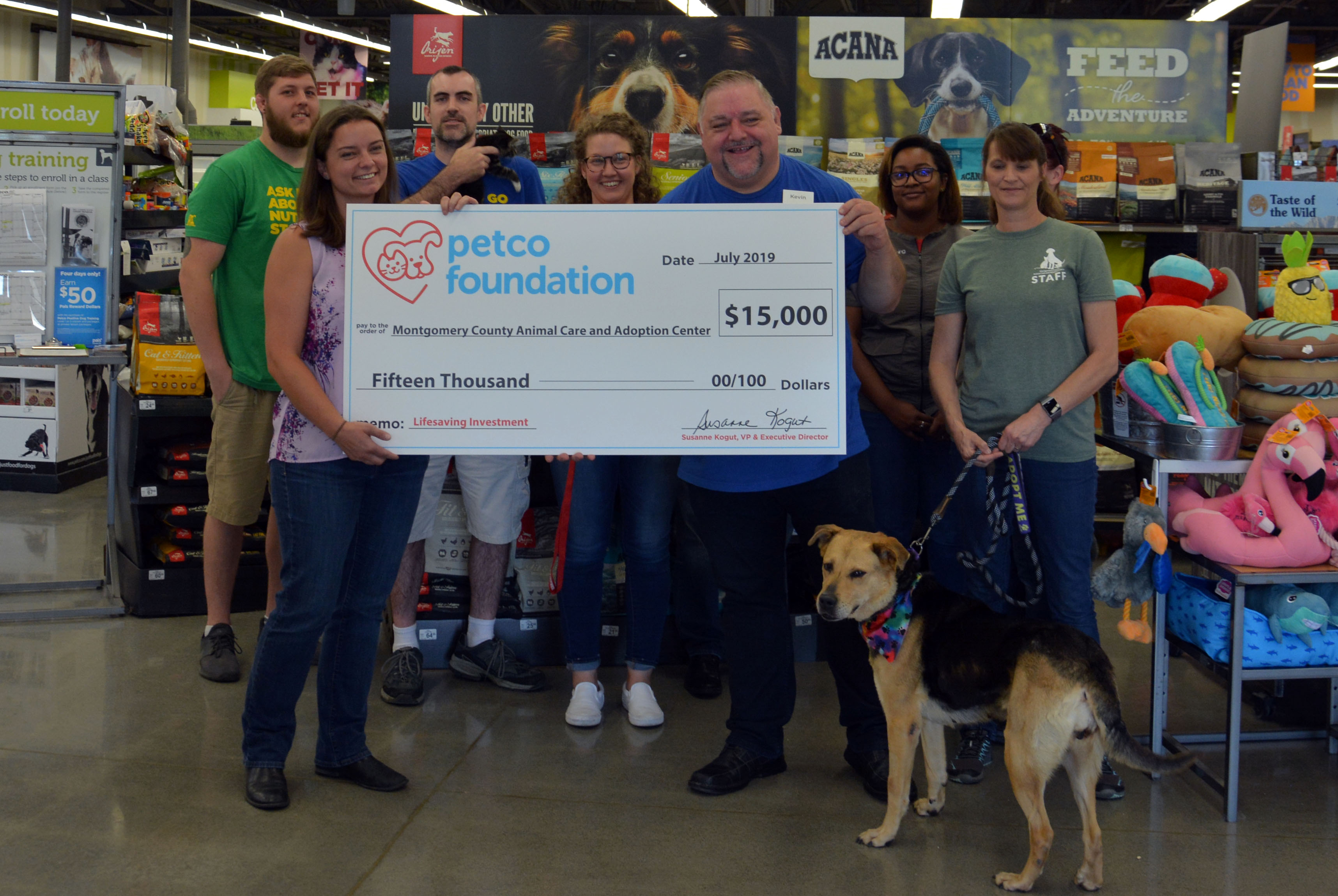 Petco Foundation Invests in Lifesaving Work of Montgomery
